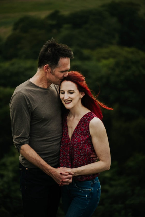 Edinburgh couples photo shoot