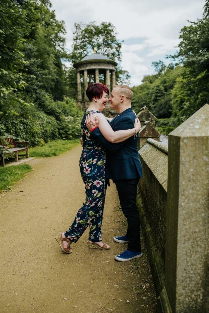 Edinburgh couple photography