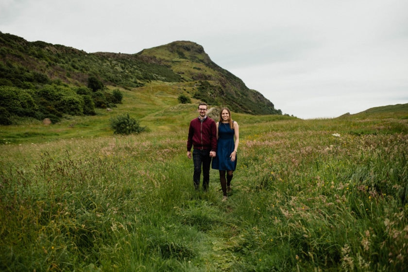 Edinburgh couples photography