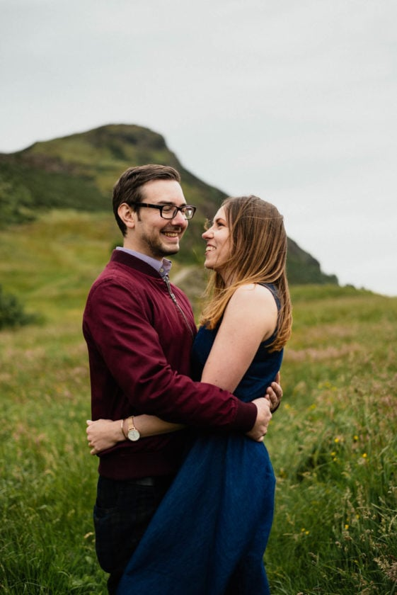 Edinburgh couples photography